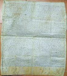 Documento del 1215